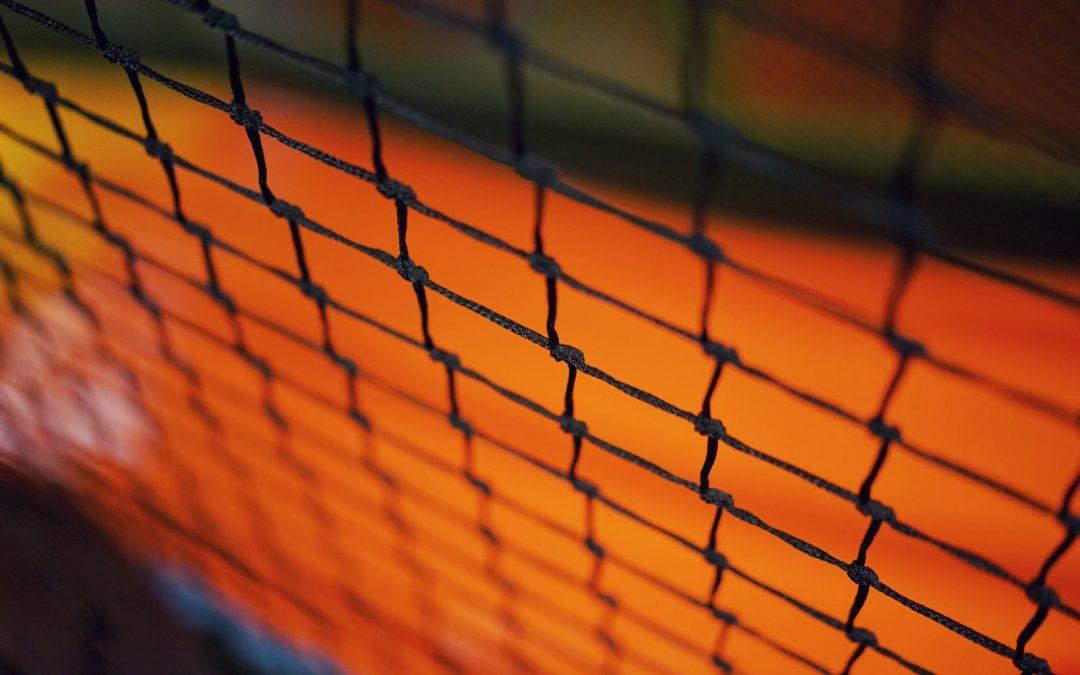 100% American Made Nylon Baseball Nets over UK Plastic